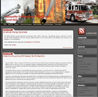 Website Design Services Volunteer Firefighters