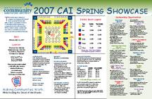 Brochure Design CAI Association Management