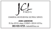 Business Card JCL Electric John Landwehr