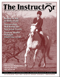 Publication Design Certified Horsemanship Association CHA Magazine