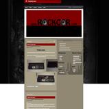 RockCor Website Design, Blogsite Installation, Guitar Equipment Website Design