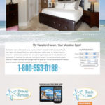 My Vacation Haven Vacation Rentals Website Redesign