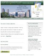 Aspen Christian College Website Design and Website Hosting Services