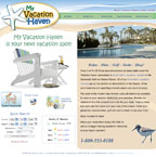 My Vacation Haven Website Redesign Services