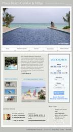 Playa Beach Condos Website reDesign Services
