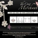 Jewelry Website Design, The Crazy Merchant, First Redesign of Website