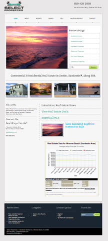 Florida Real Estate Website Design, SEO, SEM