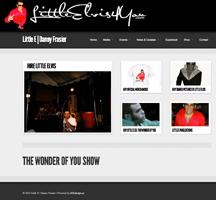 Little Elvis Tribute Artist Website Design
