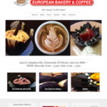 Website Design Services for Cafe Dolce European Bakery