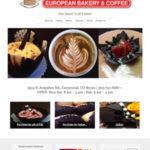 Website Design Services for Cafe Dolce European Bakery